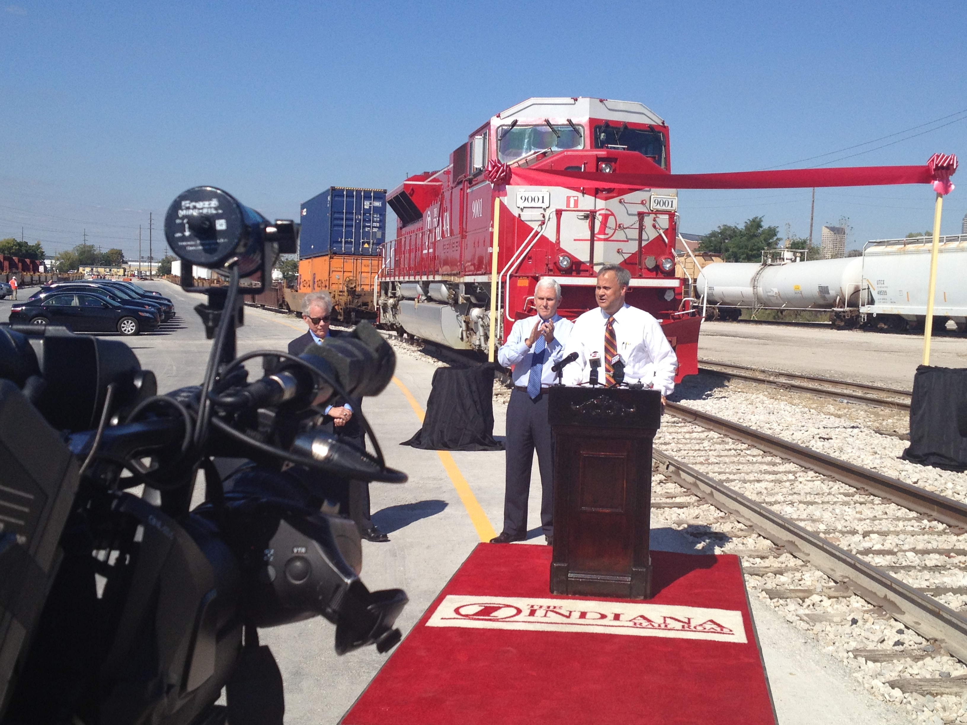 Announcing the opening of the new INRD/CN Intermodal Center